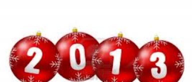 Article : 2013 est un Grand Cru…