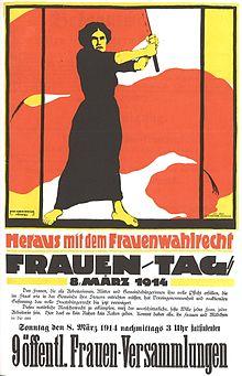 Poster allemand de 1914.