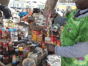 Le marché de la gare - Dakar (Crédit photo)