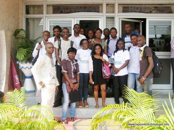 Séminaire de formation (les blogueurs présents)