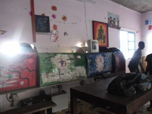 La salle d'informatique de l'empire des enfants-Sénégal (Crédit Photo Danielle Ibohn)